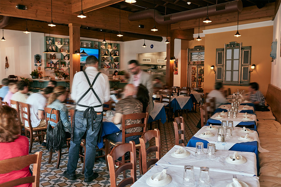 Stamna Greek Taverna Bloomfield Indoors
