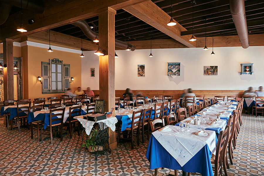 Stamna Greek Taverna Bloomfield Dining Room