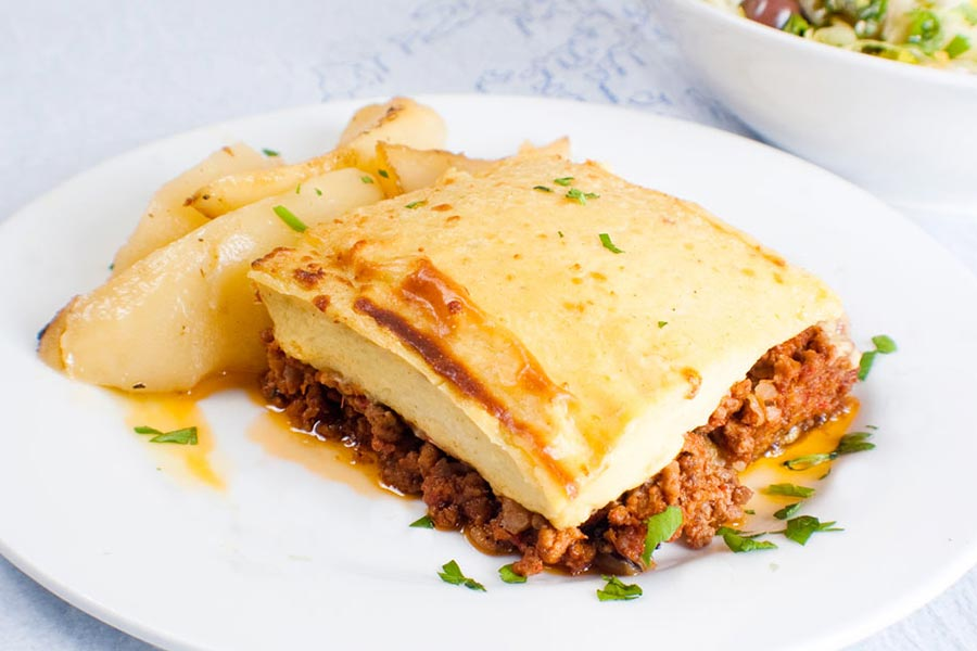 Stamna Greek Taverna Mousaka