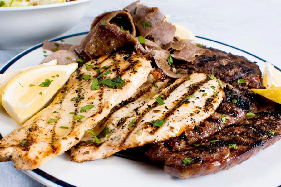 Stamna Greek Taverna Mixed Grill Platter