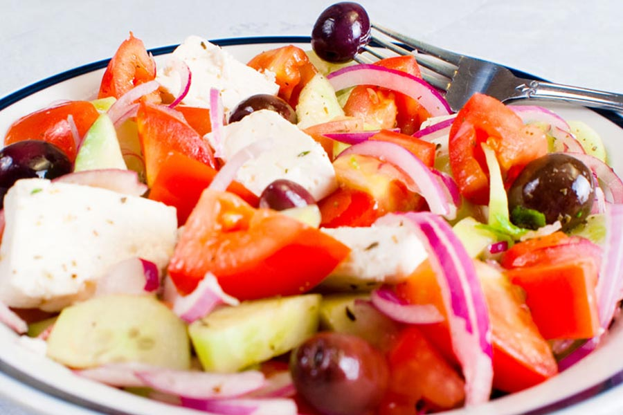 Stamna Greek Taverna Greek Salad