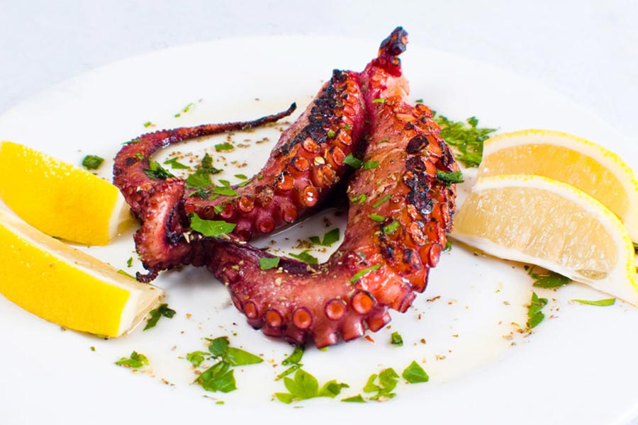 Stamna Greek Taverna Octopus