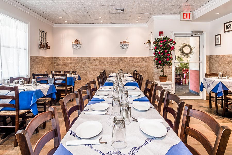 Stamna Greek Taverna Little Falls Indoor Dining